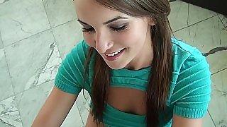 Jenna giving head on camera