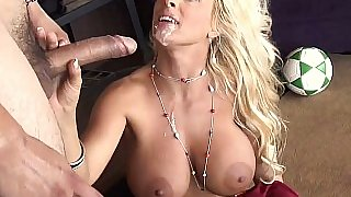 Busty Milf gets her older pussy drilled