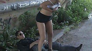 Humiliated Leyla