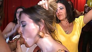 Horny girls loose moral behavior