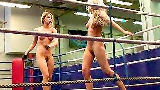 Watch this weeks dirty bitchfight where gymnast Cristal