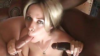 Exotic pornstar Daphne Rosen in crazy facial, interracial sex movie