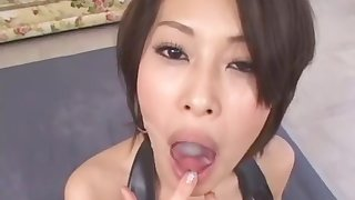 Hottest Japanese whore Saki Ootsuka in Exotic POV, Cumshots JAV clip