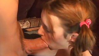 Exotic pornstar Desiree Divine in incredible creampie, blonde porn movie