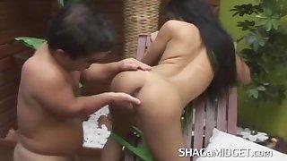 Horny Midget Bangs Hot asian