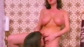 Vintage danish big boobs lesbian having fun