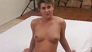 Short Hair Milf First Time On Camera
