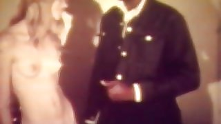 Black Deliveryman and Teen Girl (1960s Vintage)