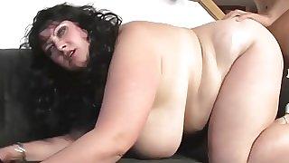 Hot BBW Getting Pussy Hard Fucked