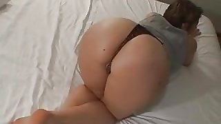 Bubble butt Gina gets fucked by a BBC