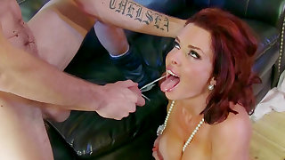 Christams came earlier for slutty Veronica Avluv