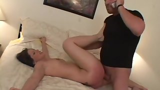 Crazy pornstar Liza Harper in hottest brunette, spanking sex video