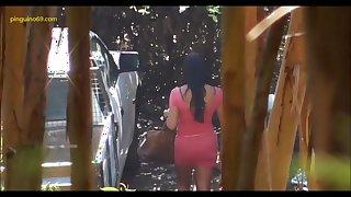 Prostituta morena chupandola en la calle - pinguino69