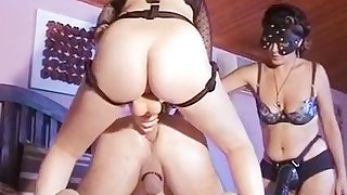 Best Homemade video with Threesome, Femdom scenes